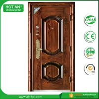 Wholesale New Main Gate Designs and High Quality Steel Security Door Exterior Metal Door from china suppliers