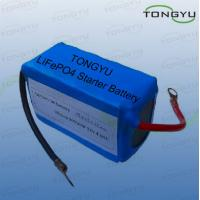Wholesale 12V Rechargeable Lithium Ion Batteries 360A Cold Cranking Amp For Motorcycle Starter from china suppliers
