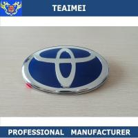 Wholesale Alloy Chrome Silver ABS Plastic Car Badge Logos For Car Body Decoration from china suppliers