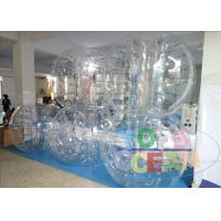 Wholesale Outdoor Amazing Inflatable Bumper Ball Clear Bubble Sumo Balls For Kids / Adults from china suppliers
