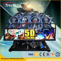 Wholesale 70 PCS 5D Movies DOF Dynamic 5D Motion Cinema With Back Poking Vibration Motion Seats from china suppliers