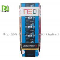 Wholesale Folding Advertising Cardboard Dump Bin Box for Promotion , Blue Red from china suppliers
