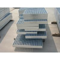 Wholesale durable customized stair treads steel grating weight steel grating with twisted square rod for stairs and treads from china suppliers