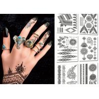 Wholesale Popular Body Black Color Tattoo Stickers , Temporary Tattoos For Girls from china suppliers