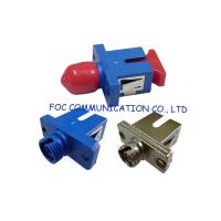 Wholesale Low Insertion Loss Fiber Optic Adapter / Ftth And Fttx Sc To St Adapter from china suppliers