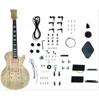 Wholesale DIY Les Paul Style Solid Electric Guitar Kits With Spalted Maple Veneered AG-LP3 from china suppliers