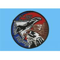 Wholesale Garment accessories embroidered patches, custom embroidered emblem badges for clothes, from china suppliers