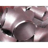 Wholesale ASTM A420 Gr WPL6 Welded  Tee 48.3*5.05 from china suppliers