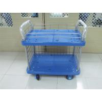Wholesale AS4084 Warehouse Storage Racks Four Wheels Steel Handle Platform Hand Truck from china suppliers