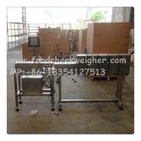 Wholesale check weigher SYSTEM check canned fruit weight and  air jet to sort  unqualified from china suppliers