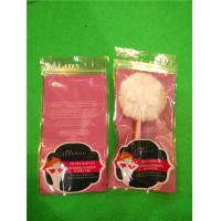 Wholesale Pink PP Flat Plastic Ziplock Bags , Sleep Eye Cover Packaging Bags from china suppliers