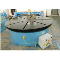 Wholesale Double Turning Small Welding Positioner Turntable 1500mm With 3 Jaws Chuck from china suppliers