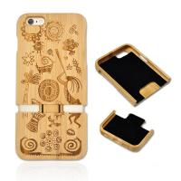 Wholesale Real wood factory eco friendly personalized wooden cell phone case for iphone 6 from china suppliers