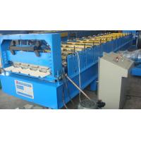 Wholesale Chain Drive Computer Control System Ridge Cap Roll Forming Machine with Tile Sheets from china suppliers