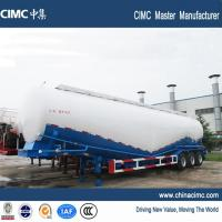 Wholesale tri-axle 84 tons cement bulk trailer without motor from china suppliers