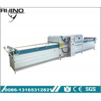 Wholesale PVC Foil Vacuum Membrane Press Machine , Double Table Vacuum Coating Equipment from china suppliers