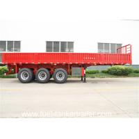 Wholesale side wall trailer / 3 axle truck trailer transport bulk cargo carbon steel from china suppliers