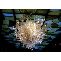 Wholesale White Art Glass Round Chandelier from china suppliers