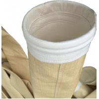 China Needle Punched Aramid Nomex Filter Bags High Temperature Grade For Cement Mill for sale