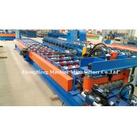 Wholesale Good Quality Roof Sheet R Panel Roll Forming Machine with 7 inch touch screen from china suppliers