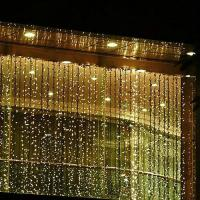 Wholesale Top View 230v fairy outdoor christmas lighting curtain for garden from china suppliers