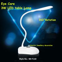 Wholesale LED Table Lamps  360° rotation 3W LED 3 levels brightness USB from china suppliers