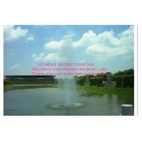 Wholesale Straight Spray Floating Pond Fountain , Dancing Water Fountain Equipment from china suppliers