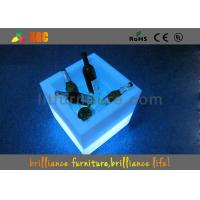 Wholesale 16 colors changeable LED cube / LED Ice Bucket with 100-240V 50.60Hz Power Supply from china suppliers