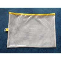 Quality Pvc Mesh Zipper Bag for sale