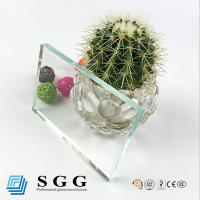 Wholesale Grade A high quality 5mm thick low iron float glass from china suppliers