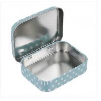 Wholesale 60x49x17mm Small Tin Boxes Condom Tin Box Mini Tin Box Mint Tin Can Metal Tin Canister from china suppliers