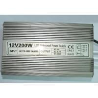 Wholesale High Power Led Driver Replacement , Led Light Power Supply Aluminum Shell 200W from china suppliers