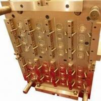 Buy cheap Plastic Injection Preform Mold, 38Cr, More Than 2000K Shots Lifespan from wholesalers