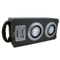 Quality Black Portable Sound Box Double Loudspeaker Angel Music (UK-368) for sale