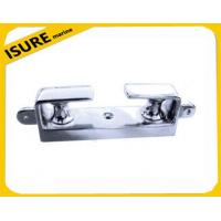 Wholesale angle fairleads with two wheels stainless steel bow chock from china suppliers