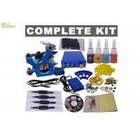 Wholesale Body Tattoo Artist Starter Kit For Practice CE TUV ISO / Tattoo Machine Full Kit from china suppliers