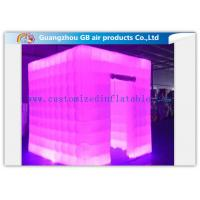 Wholesale Multicolor Led Inflatable Photo Booth Enclosure / Inflatable Photo Studio for Club from china suppliers