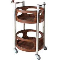 Wholesale High Quality Hotel Service Wine Trolley from china suppliers