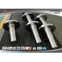 Buy cheap Rough Machined Forged Steel Flanges Open Die Forging Rustproof from wholesalers
