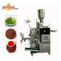 Wholesale High Capacity Small Sachet Original Green Tea Powder Tea Bag Packing Machine from china suppliers