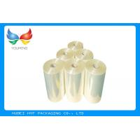 Wholesale 53% Shrinkage 45mic Shrink PVC Labels Film Rolls For Heat Shrinkable Bands from china suppliers