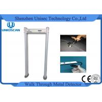 Wholesale Waterproof PVC material coverd 24 zones walk through metal detector from china suppliers