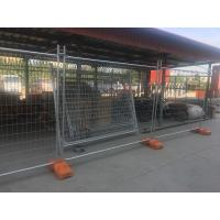 Wholesale Portable Event Fencing HDG Temporary Fence For Rental House / Residential from china suppliers