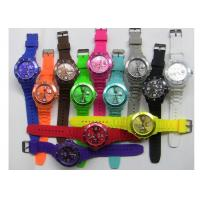 Wholesale Toy Style Unisex Quartz Movement Pointer Ice Silicone Watches with Different Color from china suppliers