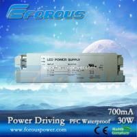Wholesale PFC 700mA30W Constant Current Led Power Supply Ce Ul ,UL power supply,UL led down light dr from china suppliers