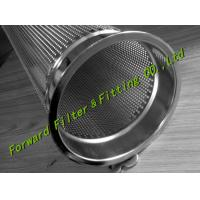 Wholesale Stainless Steel SS304 Bag Basket Industrial Filter Cartridge Green / Black / White from china suppliers