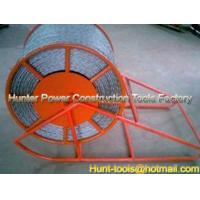 Wholesale Cable Drum Lift Frame AntiTwist Rope Steel Reels supplier from china suppliers