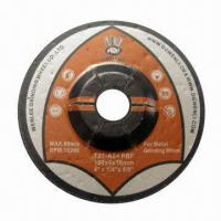 China Grinding Disc with High Stock Removal, Suitable for Metal on sale
