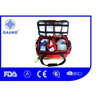 Wholesale Commercial Backpacking Medical First Aid Kit Medical Trauma Bag With Printed Logo from china suppliers