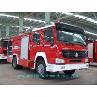 Wholesale Sinotruk Howo 6m3 Fire Fighting Trucks With Foam Water Tank 4x2 ZZ1167M4617C from china suppliers